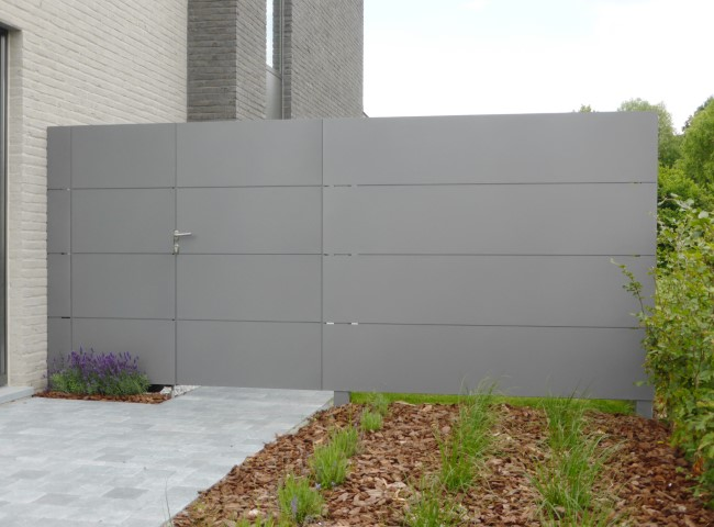 aluminium tuinpoort