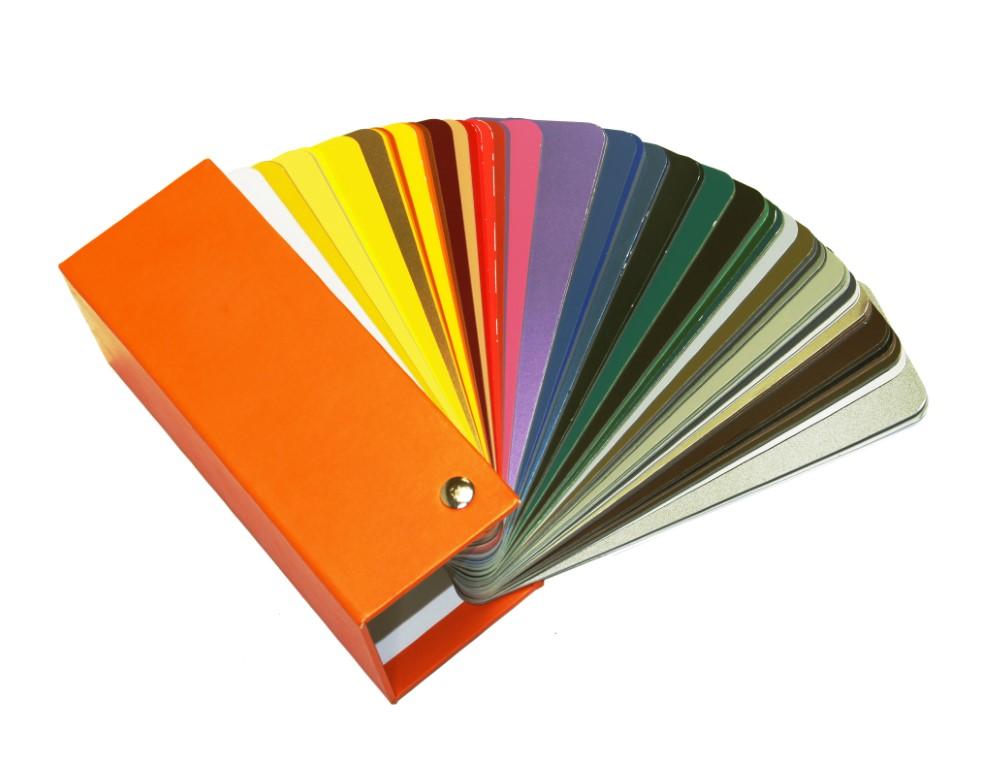 Alle RAL kleuren om uit te kiezen